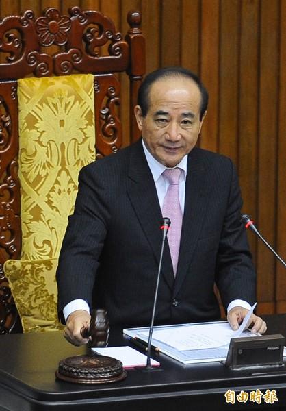 立法院長王金平。(資料照,記者張嘉明攝)