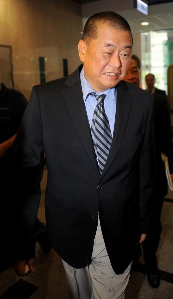 壹傳媒集團主席黎智英。(資料照,記者劉信德攝)