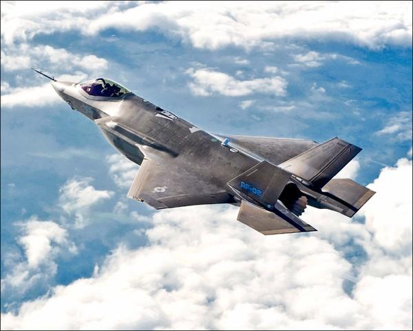 F-35戰機。(彭博資料照)