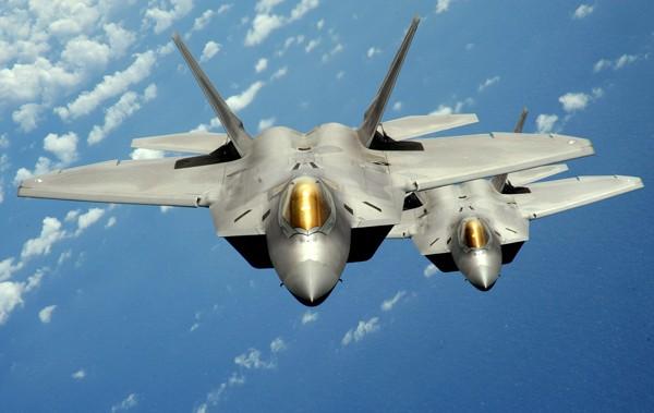 F-22戰機。(路透資料照)