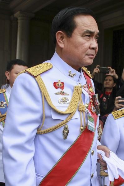 泰國陸軍總司令帕拉育,今天被自組的國會代表,正式推派為下一任總理。(路透)