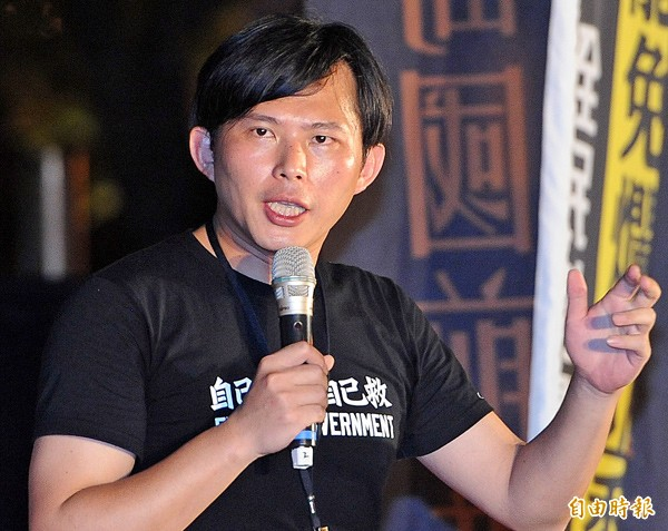 中研院副研究員黃國昌。(資料照,記者廖振輝攝)