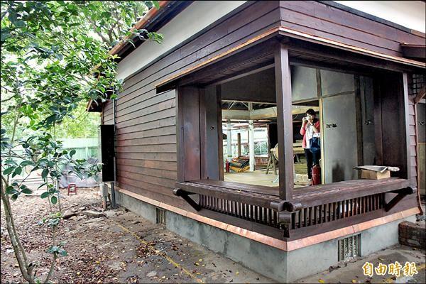 一號館預計明年一月將掛牌「願景館」,開放參觀。(記者邱奕統攝)