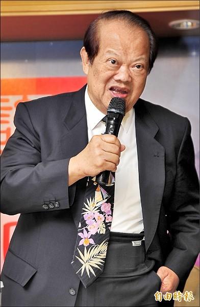 前國大議長蘇南成。(資料照)