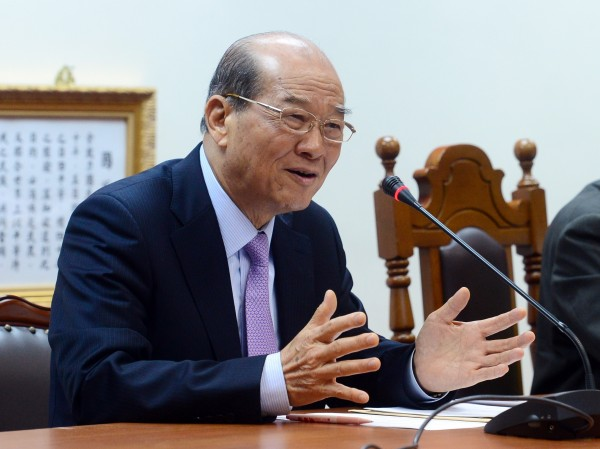 黃昆輝呼籲台灣人民聲援香港「爭自由、爭民主」,也希望馬政府採取更積極的作為來聲援。(資料照,記者王藝菘攝)
