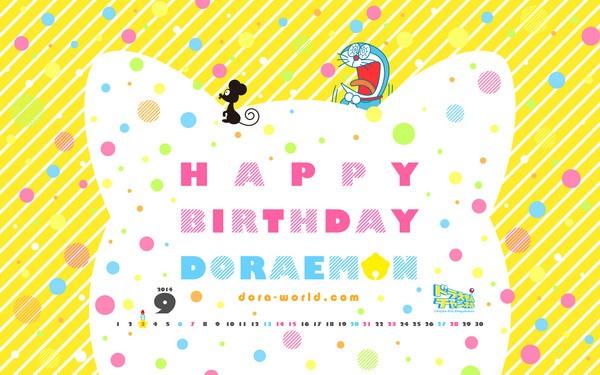 哆啦A夢今日歡慶「負98歲」生日,世界各地都有粉絲PO文祝賀。(擷取自網路)