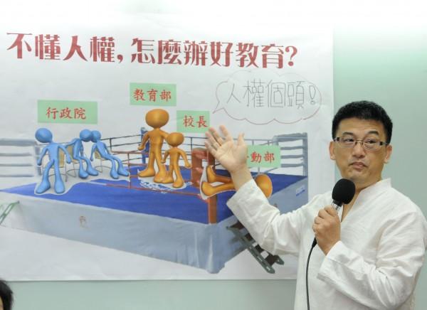 全國教師工會總聯合會秘書長劉欽旭表示,本來今年辦的特招就是「假特招」,沒有特色的特色招生。(資料照,記者王敏為攝)