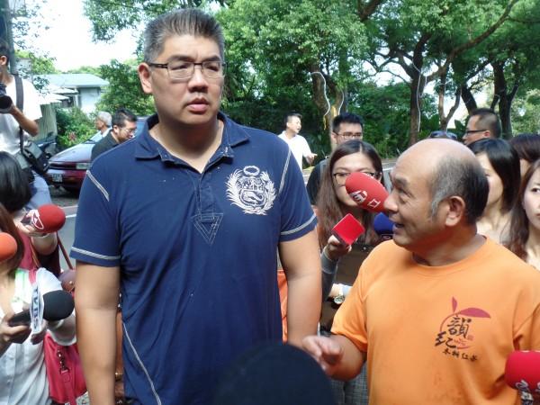 針對意外流出的競選廣告,國民黨台北市長參選人連勝文今日說:「這個廣告是市黨部方面的安排,我們並未參與其中。」表示對細節不清楚。(資料照,記者郭安家攝)