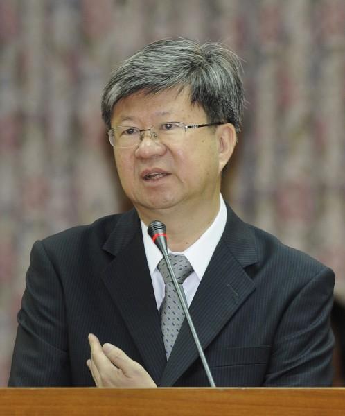教育部長吳思華上任後,今首度到立法院教育及文化委員會備詢。(記者廖振輝攝)