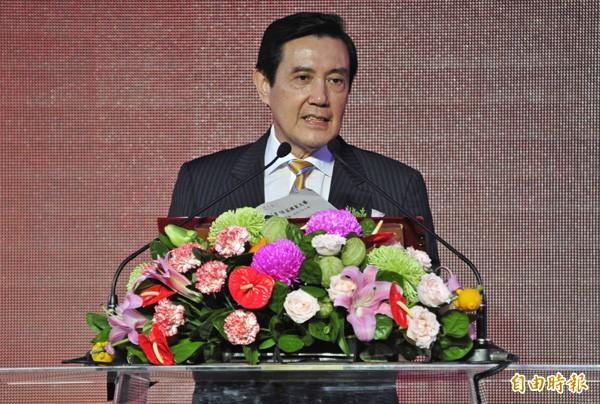 總統馬英九。(資料照,記者潘少棠攝)