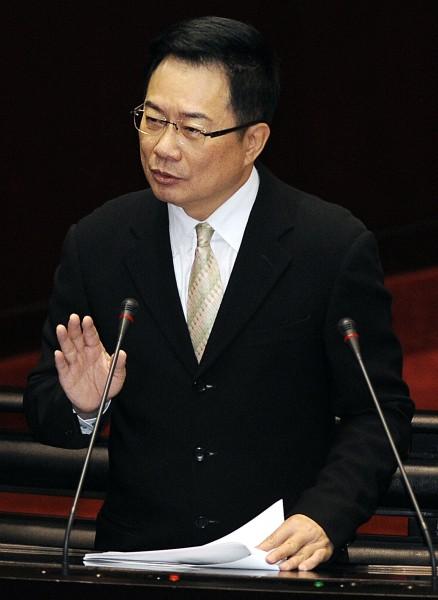 割闌尾計畫今天正式送交罷免國民黨立委蔡正元的提議書。(資料照,記者陳志曲攝)
