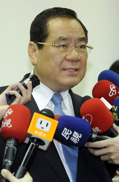 國民黨副主席暨秘書長曾永權表示,台北市長選情已接近黃金交叉,最後可望「過關」。(資料照,記者陳志曲攝)
