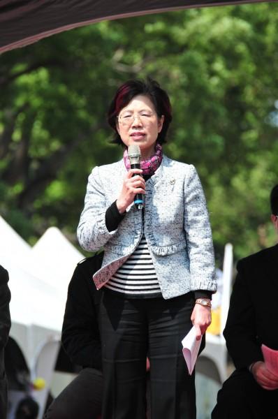 民進黨立委尤美女斥責交通部補貼中國旅遊業,稱中國遊客來台後,把台灣變醜、變髒。(資料照,記者李忠憲攝)