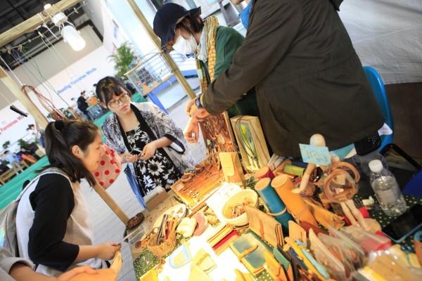 簡單生活節首度赴中國上海舉行,展現台灣自由藝術的魅力。(寬寬整合行銷提供)