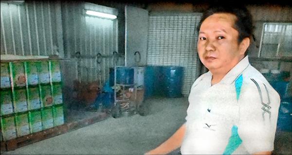 被控涉賣飼料油給正義的鑫好公司負責人吳容合,聲押獲准。(記者王俊忠翻攝)