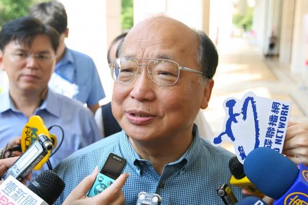 胡志強呼籲全民抵制頂新集團產品。(資料照,記者蘇金鳳攝)
