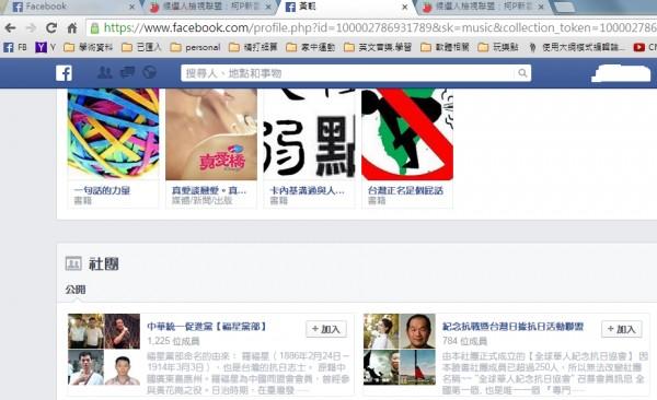 「候選人檢視聯盟」被鄉民抓包,支持者多為「中華統一促進黨」成員。(圖擷取自PTT八卦版)