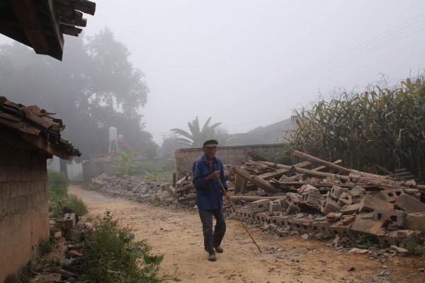 雲南近來震災頻傳,政府又時傳貪腐勾結,造成當地居民強烈不滿。(資料照,法新社)