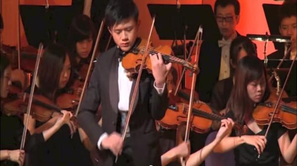 樂團首席陳正曜失而復得的小提琴價值60萬,卻遭竊賊賤價賣2500元。(圖擷取自YouTube)