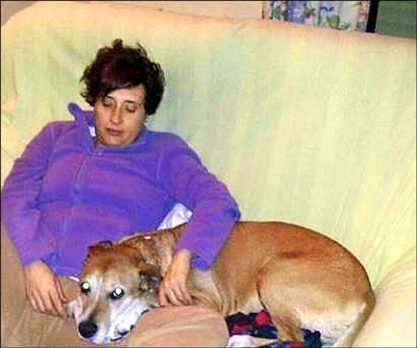 西班牙護士羅梅洛抗疫成功,不過她的愛犬「石中劍」已在被懷疑也感染伊波拉的情況下,遭衛生當局安樂死。(歐新社)