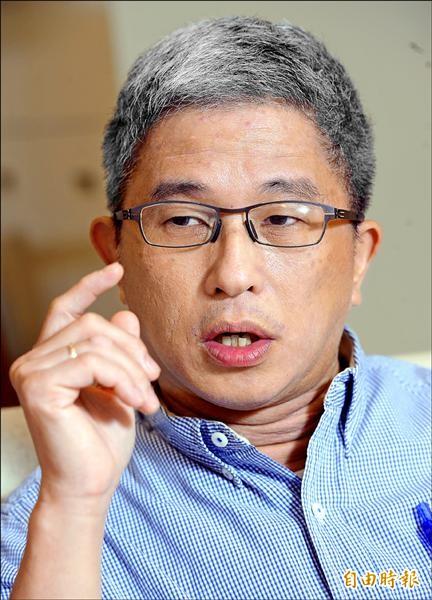 清大當代中國研究中心主任、中研院政治所副研究員徐斯儉(記者張嘉明攝)