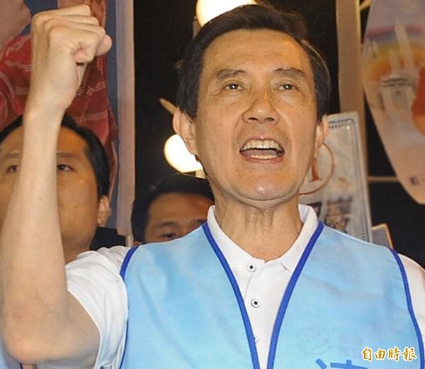 國民黨主席馬英九。(資料照,記者廖振輝攝)