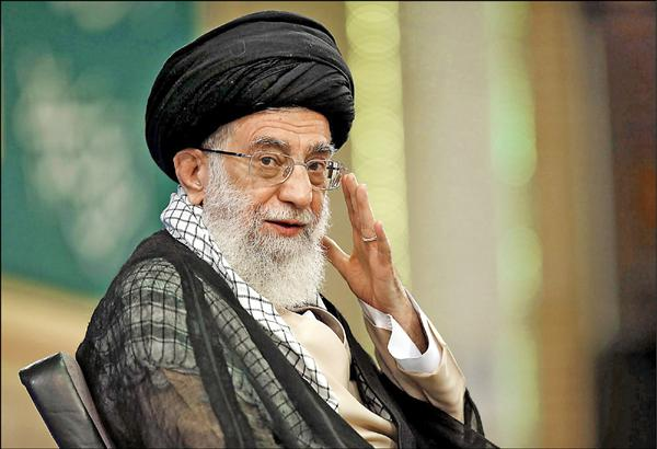 伊朗精神領袖哈米尼。(法新社)