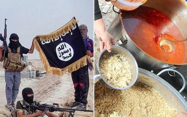 敘利亞自由軍以毒攻毒,滲透入ISIS軍營並在飲食中下毒。(圖擷取自英國《都會報》)