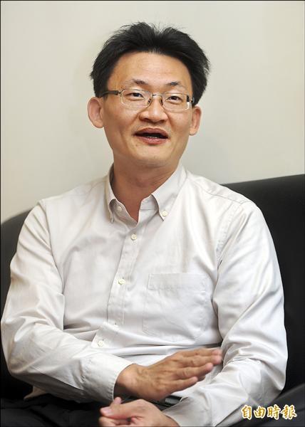 星期專訪--中研院社科所副研究員林宗弘(記者方賓照攝)