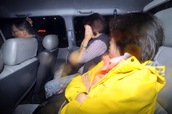 3監獄爆發收賄醜聞,相關嫌犯移送北檢複訊。(記者方賓照攝