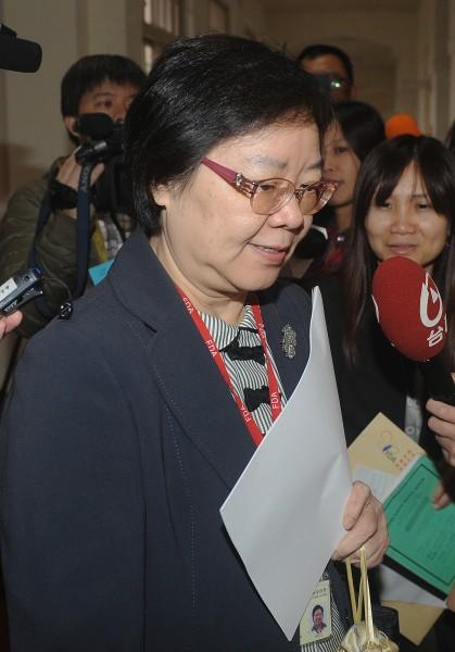 食藥署代理署長姜郁美表示,第二批檢體的檢驗結果出爐,均符合標準。(資料照)