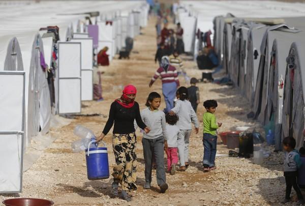 英美法三大國共收容的敘利亞難民數不超過1500人。(路透)