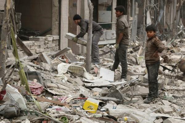敘利亞內戰從2011年持續到現在,已導致數百萬人流離失所。(路透)