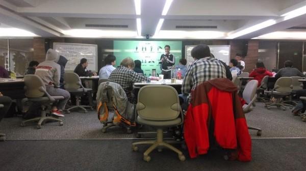 政動盟今天舉辦第二場主持人培訓。(政動盟提供)