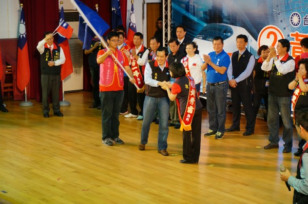 馬英九今天出席台南市黨部活動,為食安問題道歉,強調中央已經有一位衛福部長辭職下台,希望「地方政府」也要嚴查重罰。(記者黃欣柏攝)