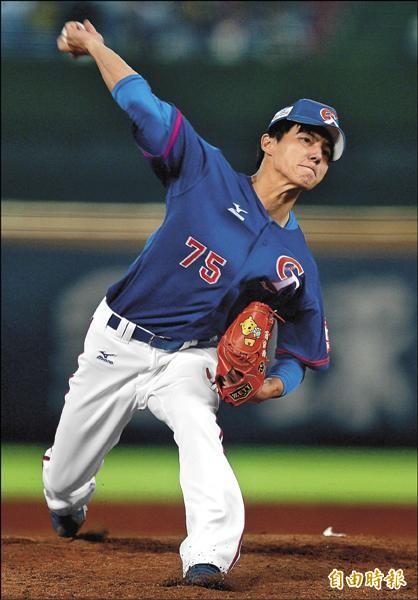 21U世界盃棒球賽冠軍戰,即將旅日的郭俊麟先發7局無失分,是台灣隊奪冠頭號功臣。(記者林正堃攝)