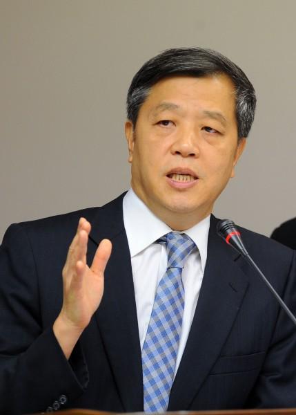 勞動部長陳雄文說,如果自救會願派代表理性溝通,他願意見面。(資料照,記者王敏為攝)