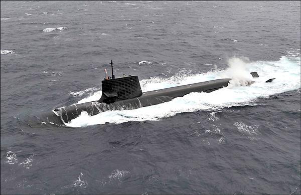 日本軍事專家建議日本政府應對台灣提供潛艦技術,圖為日本海上自衛隊有水下殺手之稱的「蒼龍級潛艦」。(路透)