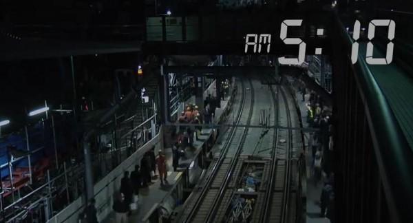 工程最終在清晨5點10分完成,全程僅耗時3小時25分鐘。(圖擷自YouTube)