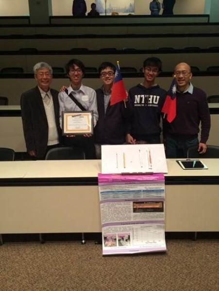 清華大學團隊NTHU Team參加今年美國國防部高等研究計劃署舉辦的國際研究挑戰賽,以自行研發少元件、低成本、容易拆裝的「快速可拆裝式散熱暨熱導連接裝置」勇奪冠軍。(圖由清大提供)