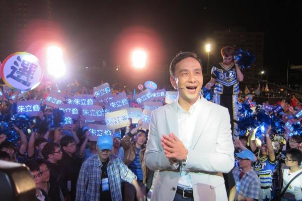 學者分析,新北市長候選人朱立倫若能大贏25萬票以上,可望成為藍營新共主,直攻2016總統大選。(資料照,記者何玉華攝)