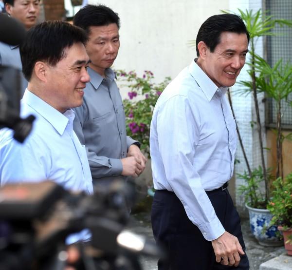 外傳總統馬英九將辭黨主席馬英九,副主席郝龍斌將跟進辭職。(資料照,記者王敏為攝)