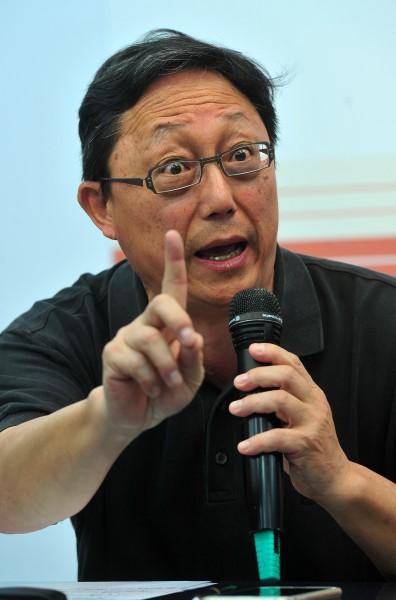 柯文哲競選總幹事姚立明表示,蔡英文拒絕推薦北市副事長人選。(資料照,記者簡榮豐攝)