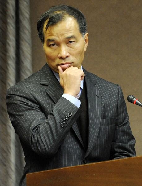 內閣總辭,交通部長葉匡時表示:「心情沈重,將跟江院長共進退。」(資料照,記者陳志曲攝)