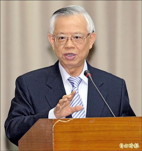國民黨九合一選舉大敗,江揆宣布請辭,央行總裁彭淮南再度被點名組閣。(資料照,記者陳志曲攝)