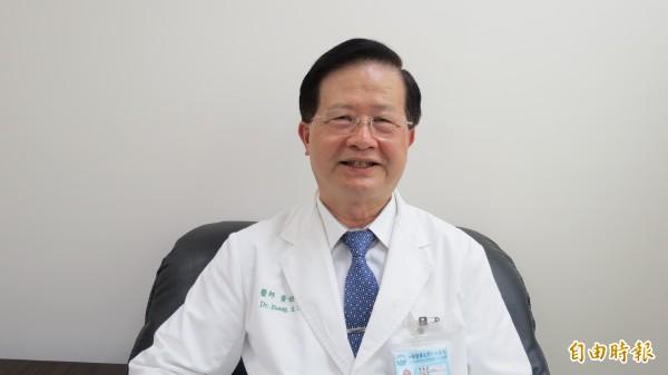 準台北市衛生局長黃世傑表示,上任後優先解決食安問題。(記者蘇金鳳攝)