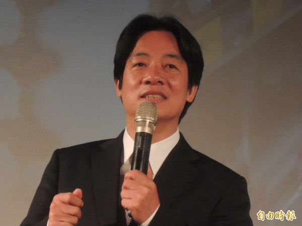 台南市長賴清德聲援釋放阿扁。(記者洪瑞琴攝)