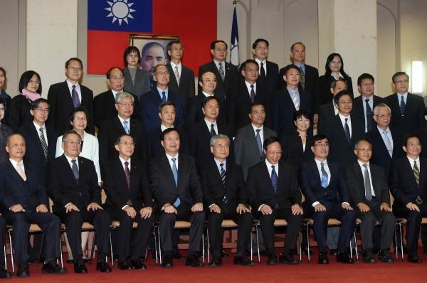 消息人士指出,總統馬英九這兩天密集找尋新閣揆人選,傳跨黨派人士不在考慮範圍內。(資料照,記者簡榮豐攝)