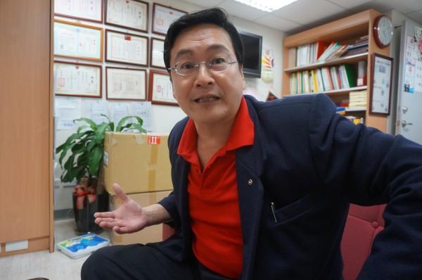台北市議員楊實秋在競選連任落敗,他表示,身為25年的北市民意代表,將會給柯文哲許多市政上的建議。(資料照,記者涂鉅旻攝)