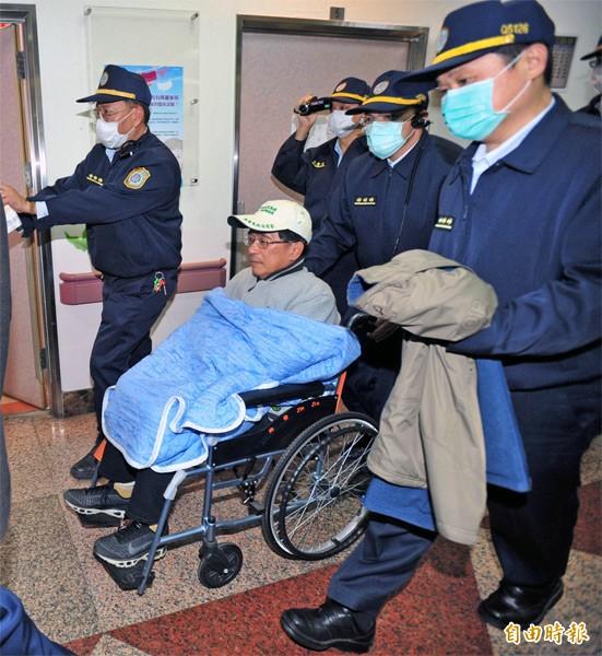 前總統陳水扁。(資料照,記者廖耀東攝)